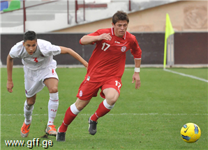 U21-ს დებიუტანტი ჰყავს – აკაკი შულაია ნიკა ძალამიძის ნაცვლად