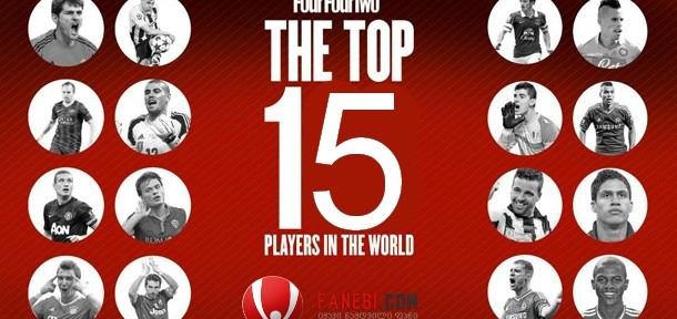 FourFourTwo: წლის საუკეთესო 15 ფეხბურთელი