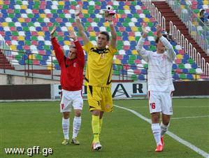 "U17 ""Development Cup""- ის მეოთხედფინალშია"