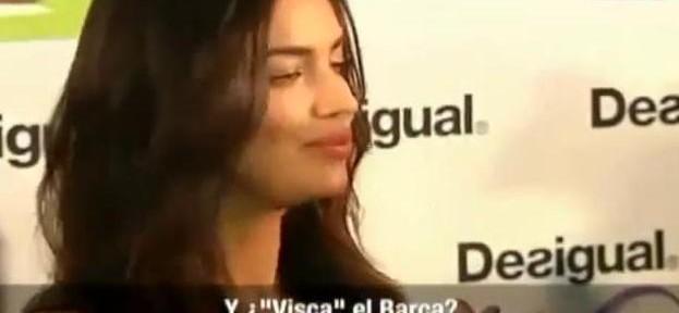 """ირინა შეიკი """"Visca Barça""""-ს თქმაზე უარს ამბობს"""