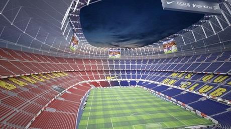 Barcelona New Stadium