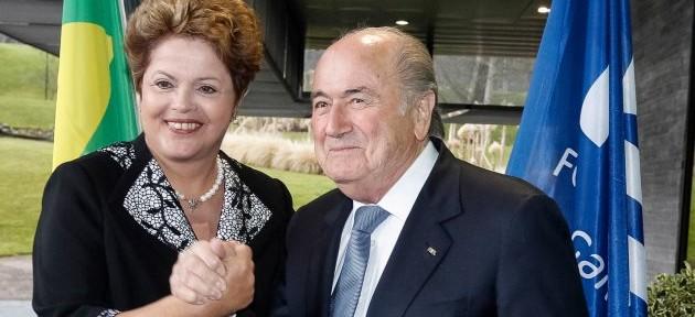 ზეპ ბლატერსა და ბრაზილიის პრეზიდენტს შორის სატელეფონო დიალოგი შედგა