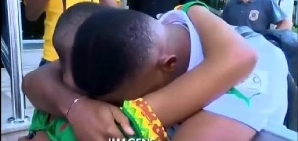 ემოციური ვიდეო: სამუელ ეტოომ ბიჭუნას თხოვნა შეუსრულა