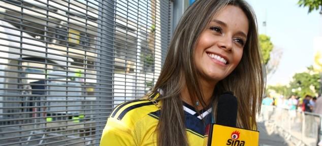 ყველაზე მომხიბლავი კოლუმბიელი ჟურნალისტის საფეხბურთო ფრისტაილი