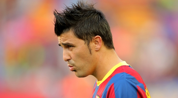 David-Villa-Set-to-Regain-his-First-team-Place-With-La-Roja