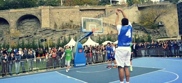 რიყეზე გამართული 3X3 Tbilisi Cup 2014 გუნდმა Dive-მ მოიგო