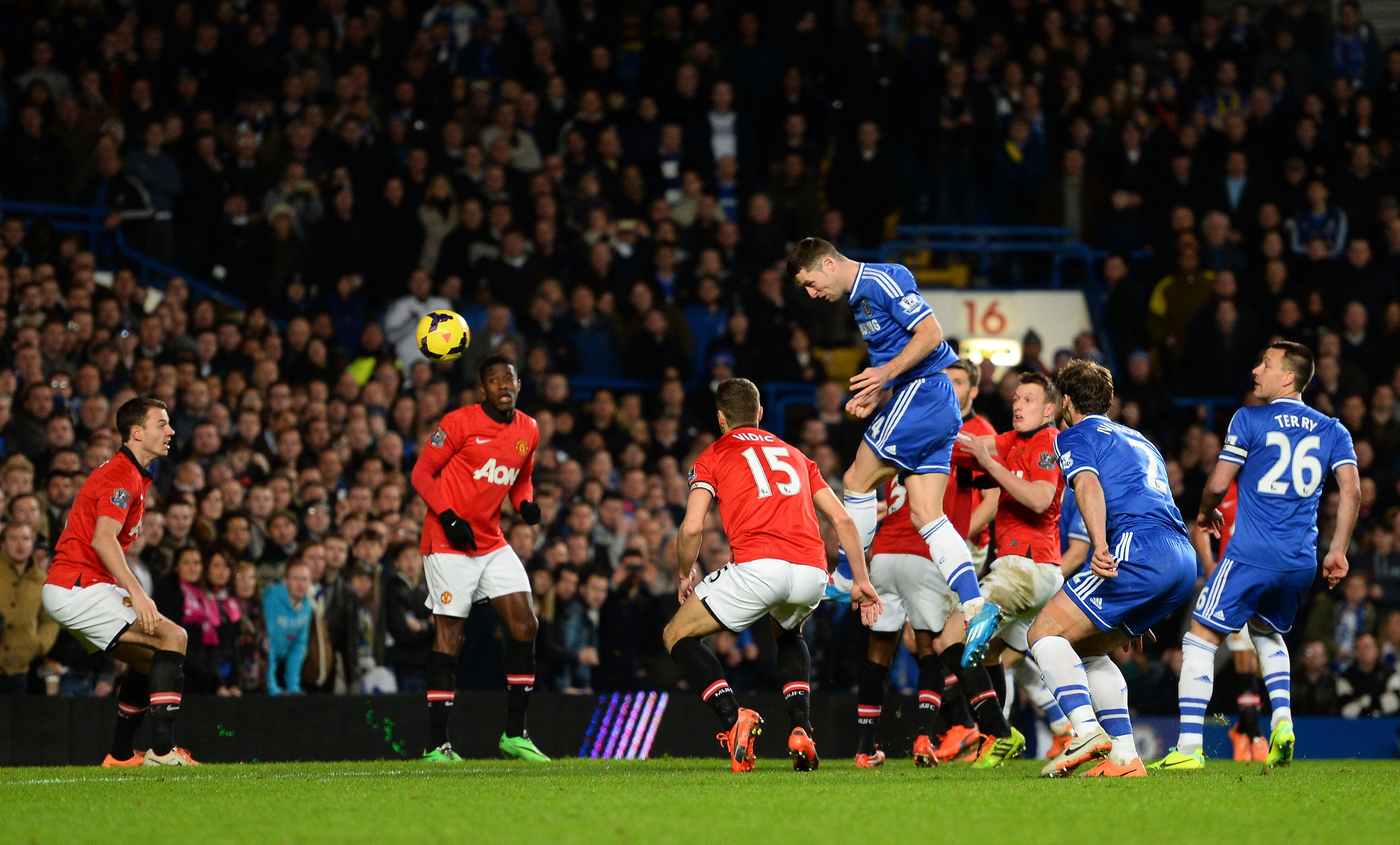 Antonio Contes Chelsea have had the upper hand over Jose Mourinhos Manchester United so far
