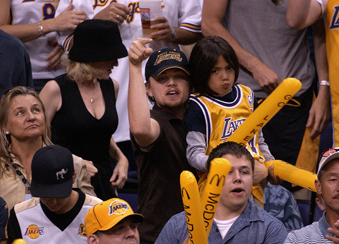 Celebrities Attend Lakers Game In Los Angeles