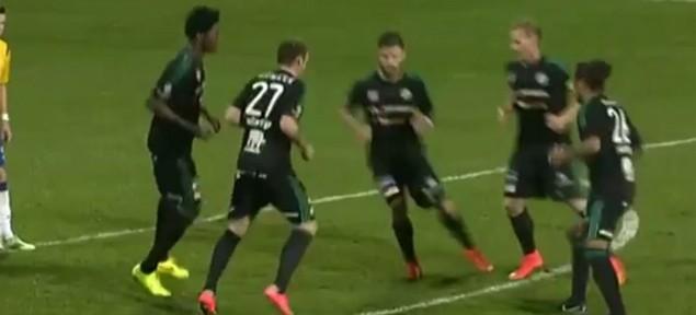ყველაზე უცნაური რამ, რაც ფეხბურთის მატჩის დროს გინახავთ (ვიდეო)