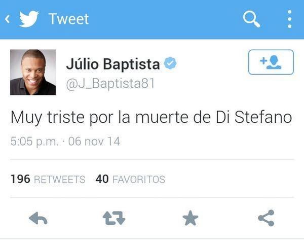 Baptista twitter