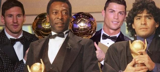 მესი, რონალდუ, მარადონა თუ პელე? ვის ეკუთვნის ყველაზე დიდი ადგილი ფეხბურთის ისტორიაში