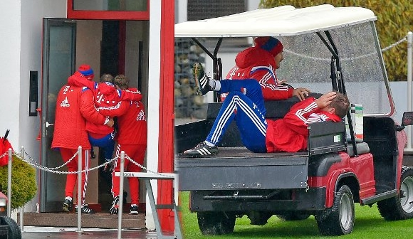 Philipp Lahm injury