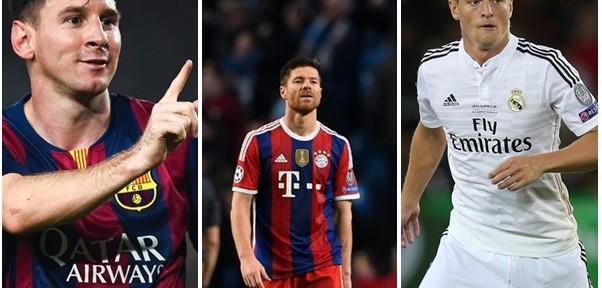 TOP 10: ფეხბურთელები, რომლებიც ჩემპიონთა ლიგაზე ყველაზე მეტ ზუსტ პასს აკეთებენ