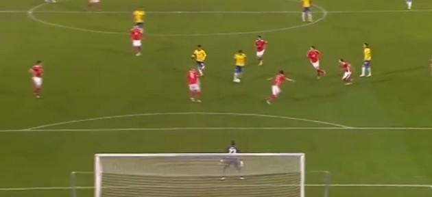 ბრაზილიელმა ფეხბურთელმა ავსტრიას ულამაზესი გოლი გაუტანა (ვიდეო)