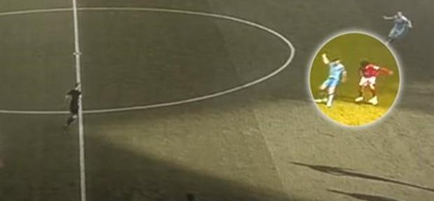 ფელაინიმ მილნერი შესანიშნავი ფინტით მოატყუა (ვიდეო)