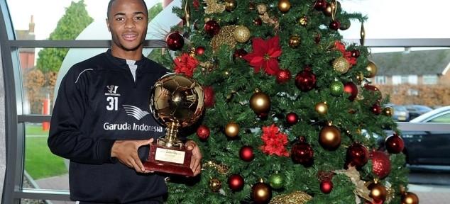 სტერლინგი ევროპის წლის საუკეთესო ახალგაზრდა მოთამაშედ დაასახელეს