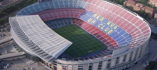 ათი ყველაზე დიდი სტადიონი მსოფლიოში
