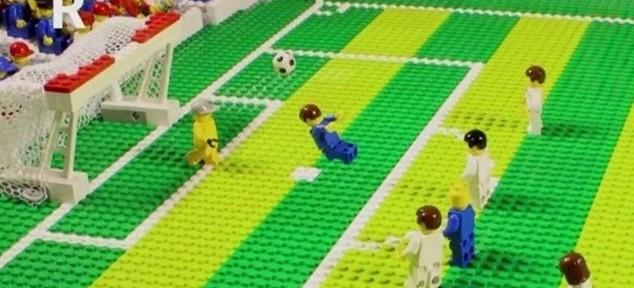 LEGO-ს სათამაშოებით აწყობილი 2014 წლის საუკეთესო გოლები