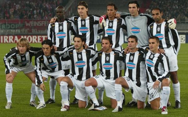 Fussball: CL 04/05, Juventus Turin-FC Bayern Muenchen