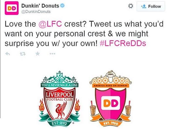 Liverpool -  Dunkin Donuts