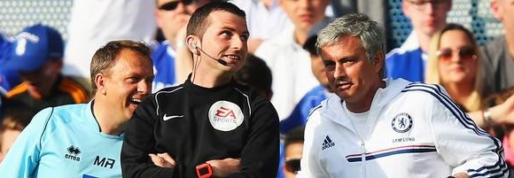 Mourinho - Referee