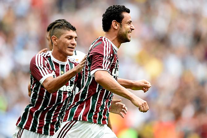 Fluminense v Corinthians - Brasileirao Series A 2014