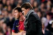 Leo Messi - Tito Vilanova