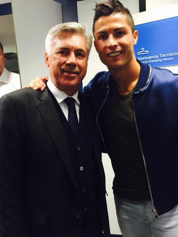 Carlo Ancelotti - Cristiano Ronaldo