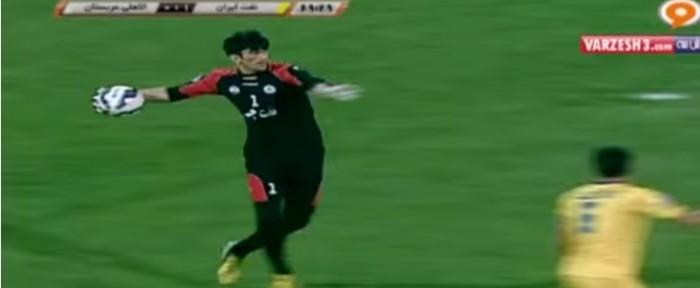 ირანელმა მეკარემ სასწაული პასი გააკეთა (ვიდეო)