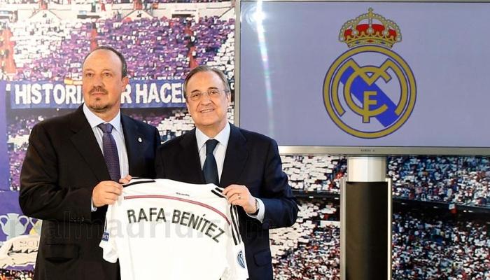 Florentino Perez - Rafa Benitez