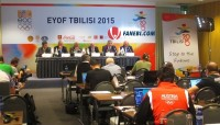 EYOF press conference