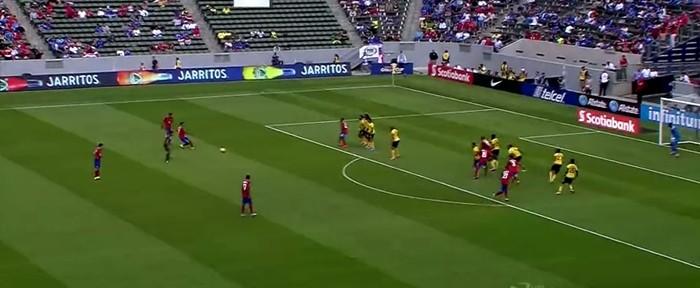 როგორ გაითამაშეს კოსტა რიკელმა ფეხბურთელებმა საჯარიმო (ვიდეო)
