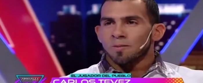 კარლოს ტევესს პირდაპირ ეთერში ცრემლები წამოუვიდა (ვიდეო)