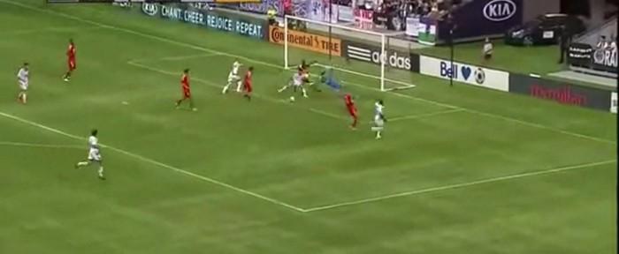 ურუგვაელი ფეხბურთელის ეფექტური გოლი MLS-ში (ვიდეო)