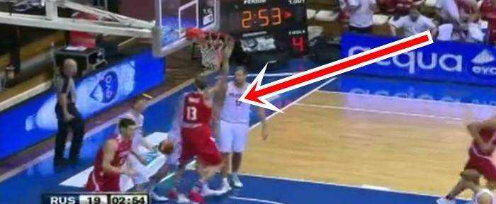 რა გააკეთა ვიქტორ სანიკიძემ რუსეთის ნაკრებთან მატჩში (ვიდეო)