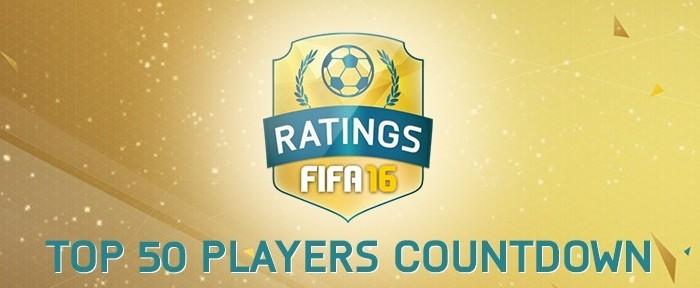 ვიდეოთამაშ FIFA 16-ის საუკეთესო ფეხბურთელთა რეიტინგი