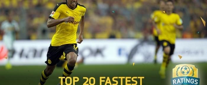 FIFA 16: ყველაზე სწრაფი ფეხბურთელები