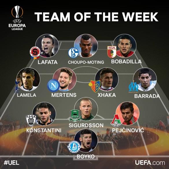 UEL team of the week