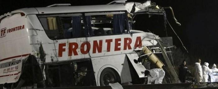 ტრაგედია მექსიკაში: ფეხბურთელთა ავტობუსი მდინარეში გადავარდა, დაღუპულია 16 ადამიანი