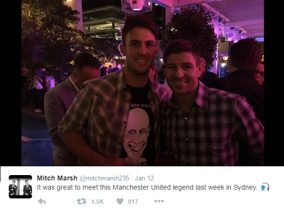 Mitch Marsh - Steve Gerrard