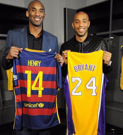 Kobe and Henry