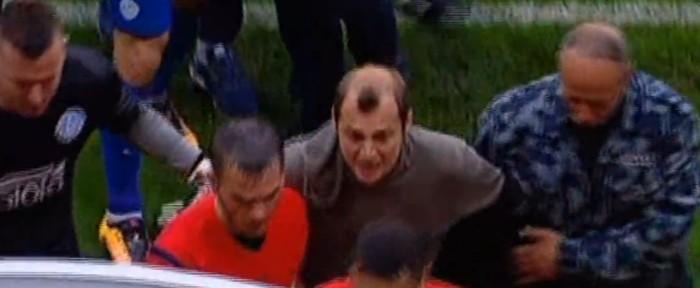 უკრაინაში სკანდალი გრძელდება: ზოზულიამ მსაჯს ფიზიკური შეურაცხყოფა მიაყენა (ვიდეო)