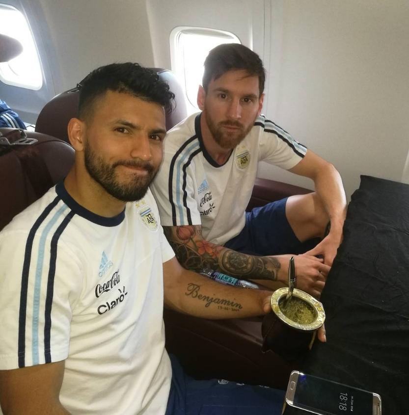 Aguero - Messi