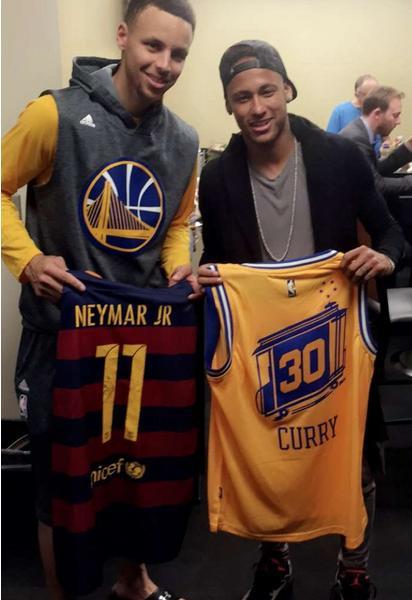 Curry and Neymar