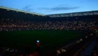 Dark stadium