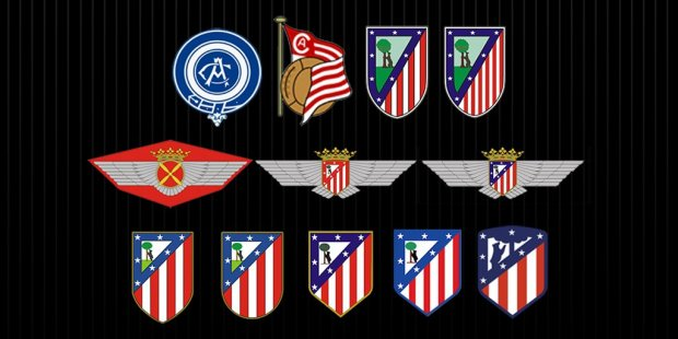 Atletico all badges