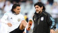 Carlos Tevez - Diego Maradona