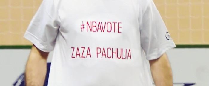 ლევან კობიაშვილი: #NBAVOTE ZAZA PACHULIA (ვიდეო)