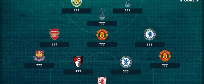 პრემიერ ლიგა: მე-19 ტურის სიმბოლური გუნდი (ფოტო)