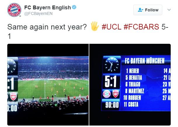 Bayern troll